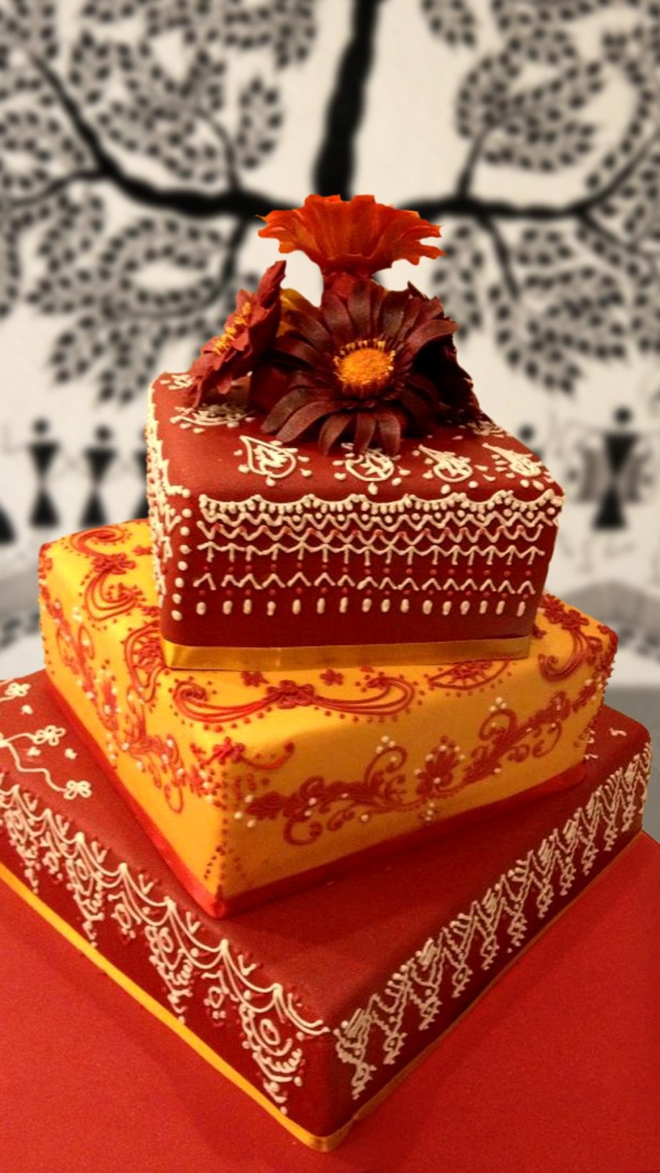 Mehandi Cake